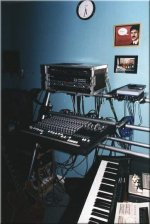Home studio equipment - click to enlarge